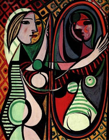 Picasso+-+Muchacha+ante+el+espejo+(cuadro)