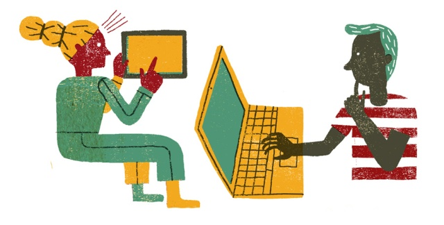 Ilustraciónciberbulling